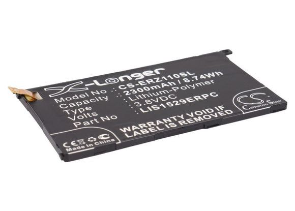 Battery For SONY ERICSSON Amami, Amami Maki, D5503, M51w, SO-02F, - vintrons.com