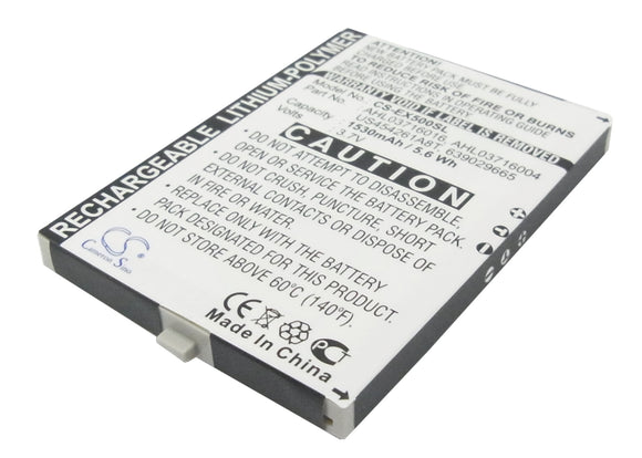 Battery For E-TEN glofiish M700, glofiish X500, glofiish X500+, - vintrons.com