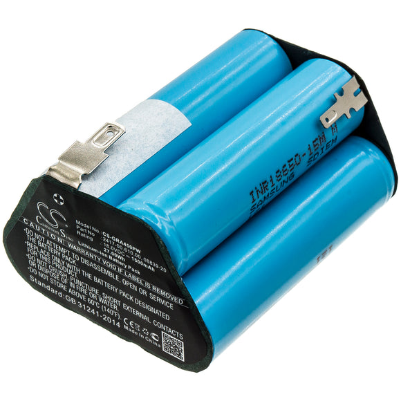 Battery For GARDENA 02417-20,Accucut 400Li,Accucut 450Li,