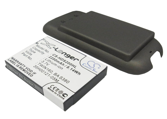 SPRINT 35H00121-05M, BA S380, TWIN160 Replacement Battery For SPRINT Hero, Hero 200, - vintrons.com