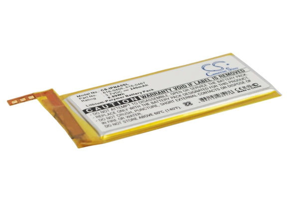 APPLE 616-0406, 616-0467, P11G73-01-S01 Replacement Battery For APPLE iPod Nano 5th, - vintrons.com