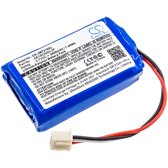 JBL AEC653055-2P Replacement Battery For JBL Flip 2 (2013), Flip II (2013), - vintrons.com