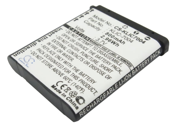 Battery For KODAK EasyShare M1033, EasyShare M1093 IS, - vintrons.com