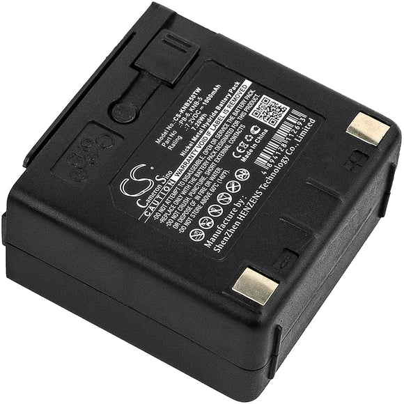 Battery For Kenwood TH-25, TH-26,  TH-45, - vintrons.com