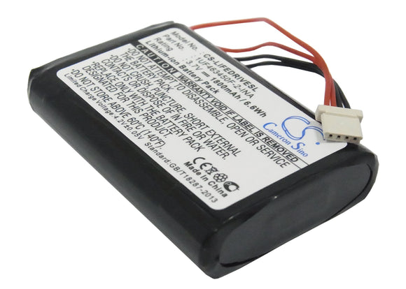 PALM 1UF463450F-2-INA Replacement Battery For PALM LifeDriver, - vintrons.com
