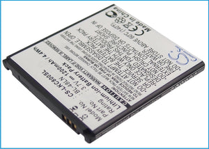 Battery For LG C800DG, C800G, C800VL, CX2, Eclipse 4G LTE, Eclypse 4G, - vintrons.com