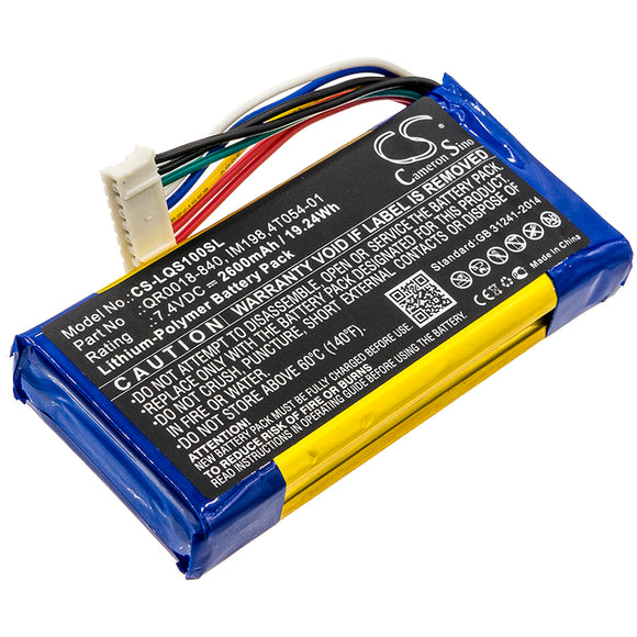 QOLSYS 4T054-01, IM198, QR0018-840 Replacement Battery For QOLSYS IQ Panel, - vintrons.com