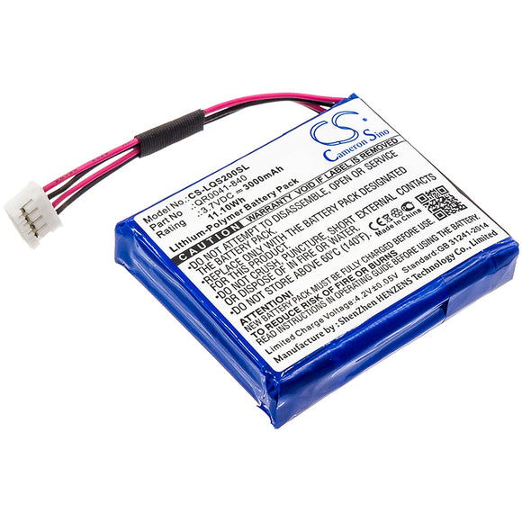 QOLSYS QR0041-840, SP584646-1S2P Replacement Battery For QOLSYS IQ Panel 2, - vintrons.com