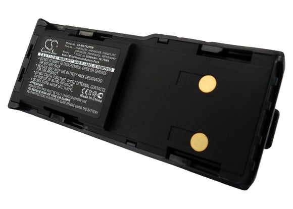 Battery Replacement For Motorola GTX LTR Portable, GTX Series, - vintrons.com