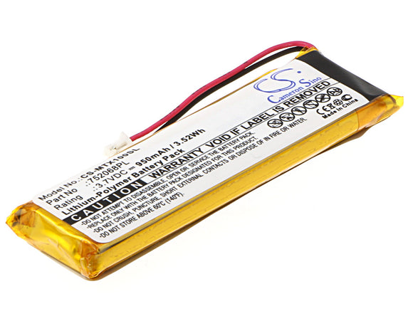 950mAh Battery For MIDLAND 752068PL,