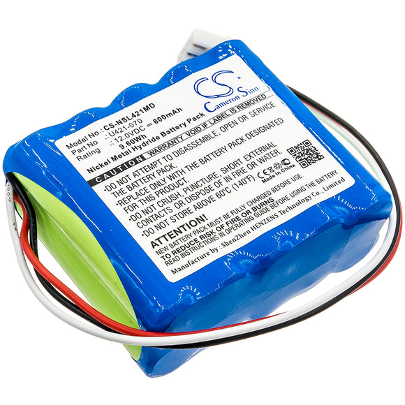 NSK U421-070 Replacement Battery For NSK EndoMate DT, Endo-Mate DT, - vintrons.com