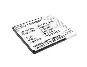 ALCATEL TLi014C7 Replacement Battery For ALCATEL One Touch Pixi First, OT-4024, OT-4024D, OT-4024X, - vintrons.com