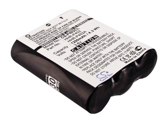 Battery For GE TL-26400, / PANASONIC HHR-P402, KX-FPG371, KX-FPG372, - vintrons.com