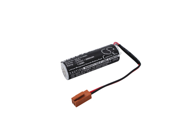 TOSHIBA ER14500, ER6V Replacement Battery For TOSHIBA ER14500, ER6V, - vintrons.com