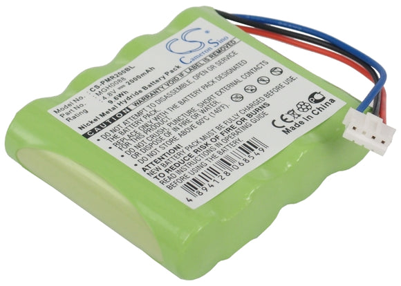 TOPCARD MGH0088 Replacement Battery For TOPCARD PMR 200, PMR200, - vintrons.com