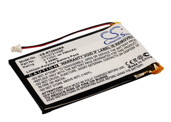 RAPOO C010721HSP Replacement Battery For RAPOO 2900 Touch, - vintrons.com
