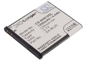 SHARP EA-BL20 Replacement Battery For SHARP SH80iUC, SH81iUC, - vintrons.com