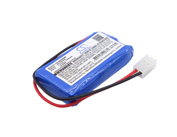 SHENKE AEC703466 Replacement Battery For SHENKE SK500i, SK-500I Infusion pump, SK600i, SK-600I Infusion pump, - vintrons.com