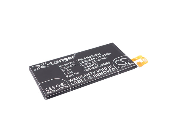 Battery For SAMSUNG Galaxy On5 2016 Duos, Galaxy On5 2016 Duos TD-LTE, - vintrons.com