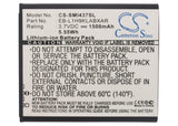 Battery For AT&T Galaxy Express, GT-I8730, SGH-I437, - vintrons.com