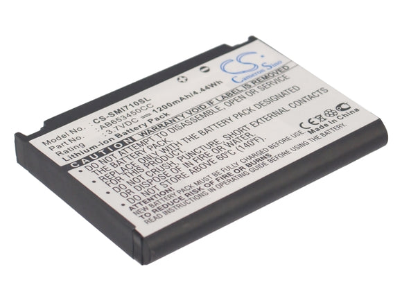 SAMSUNG AB653450CC Replacement Battery For SAMSUNG SGH-i710, SGH-i718, - vintrons.com