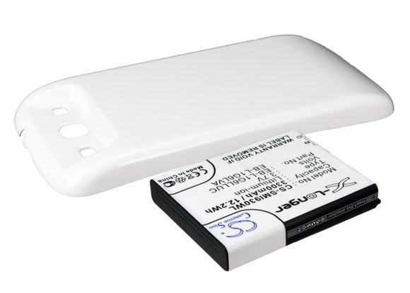 SAMSUNG EB-L1G6LLK, EB-L1G6LLU, EB-L1G6LLUC, EB-L1G6LVA Replacement Battery For SAMSUNG Galaxy S3, Galaxy SIII, GT-I9300, GT-I9308, SGH-T999V, - vintrons.com
