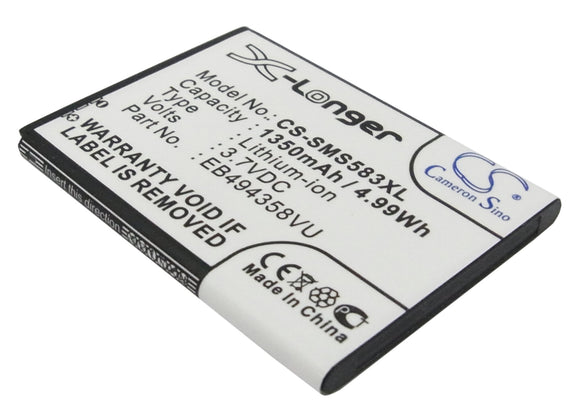 Battery For SAMSUNG Ace, Cooper, Galaxy Ace, Galaxy Fit, Galaxy Gio, - vintrons.com