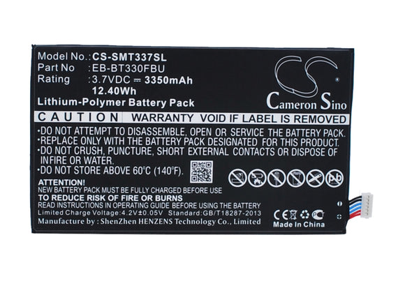 SAMSUNG EB-BT330FBU Replacement Battery For SAMSUNG Galaxy Tab 4 8.0, Galaxy Tab4 8.0