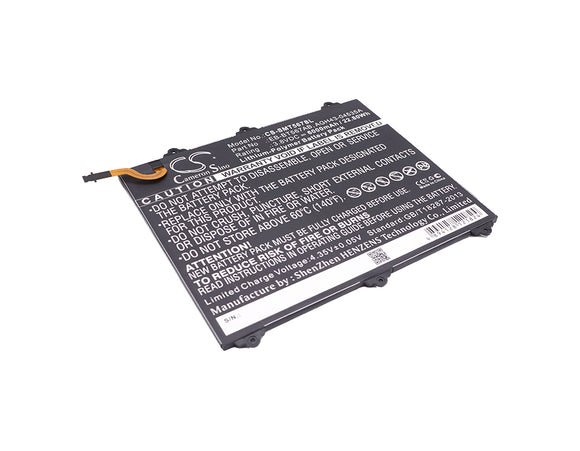 SAMSUNG EB-BT567ABA, GH43-04535A Replacement Battery For SAMSUNG Galaxy Tab E 9.6 XLTE, SM-T560NU, SM-T567, SM-T567V, - vintrons.com