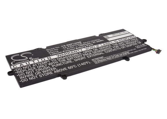 SAMSUNG AA-PBWN4AB, BA43-00360A Replacement Battery For SAMSUNG ATIV Book 7, NP740, NP740U3E, - vintrons.com