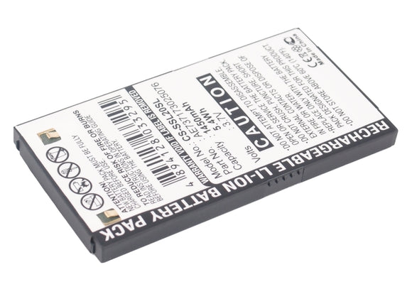 SIRIUS AE737173025076 Replacement Battery For SIRIUS Stiletto SL2, - vintrons.com