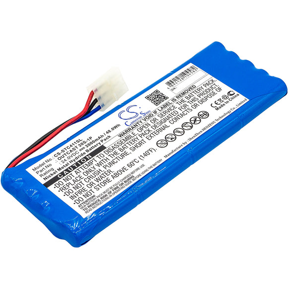 Battery For SOUNDCAST ICO410, ICO410-4n, ICO411a, ICO411a-4N, - vintrons.com