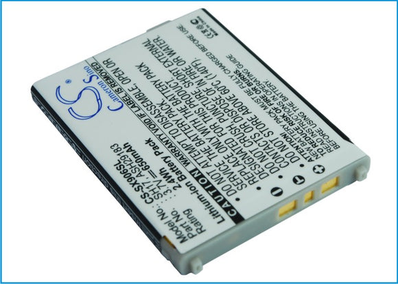 SHARP ASH29183, SH17 Replacement Battery For SHARP 906H, 906I, SH906I, - vintrons.com