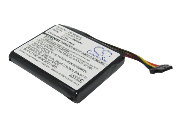 Battery For TOMTOM 4CS0.002.01, Go 1000, Go 1000 Live, Go 1005, - vintrons.com