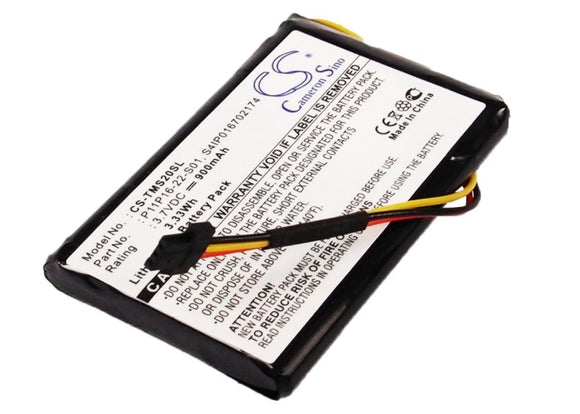 TOMTOM P11P16-22-S01, S4IP016702174 Replacement Battery For TOMTOM 4ET0.002.07, Start XL, - vintrons.com