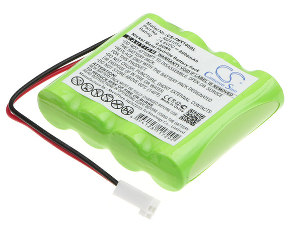 TELERADIO M241054 Replacement Battery For TELERADIO LE-TX-MX10, LI-TX-MD10, LI-TX-MN6, - vintrons.com