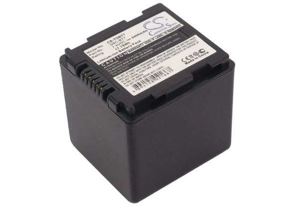 TOSHIBA GSC-BT6, GSC-BT7 Replacement Battery For TOSHIBA Gigashot GSC-A100F, Gigashot GSC-A40F, Gigashot GSC-K40H, Gigashot GSC-K80H, - vintrons.com