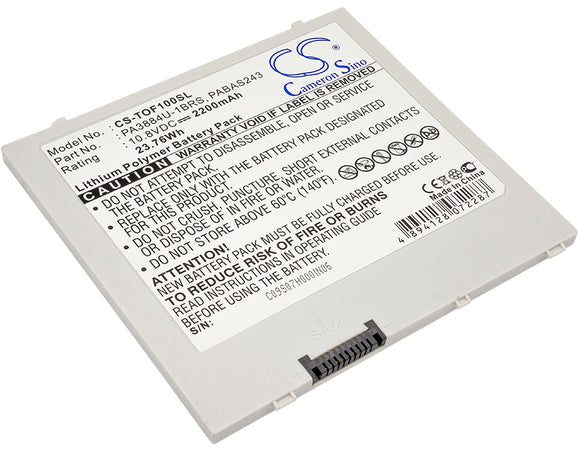 Battery For TOSHIBA 10 Thrive, AT100, AT100-001, AT100-002, AT100-100, - vintrons.com