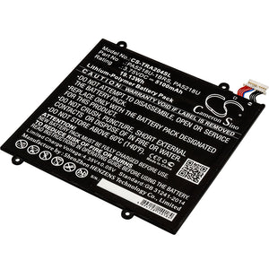 TOSHIBA PA5218U, PA5218U-1BRS Replacement Battery For TOSHIBA Excite A204, Excite A204 AT10-B, - vintrons.com