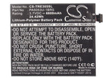 TOSHIBA PA5053U-1BRS Replacement Battery For TOSHIBA AT205, AT205-T16, AT305, Excite 10, Excite 10LE, - vintrons.com