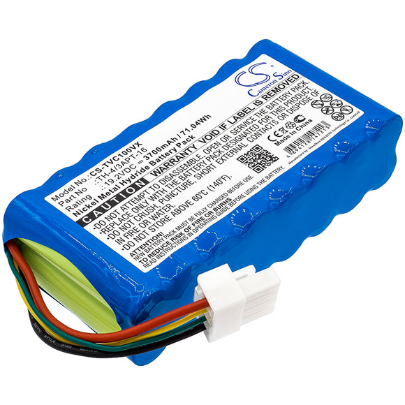 TOSHIBA TH-4/3APT-16 Replacement Battery For TOSHIBA VC-J1X, - vintrons.com
