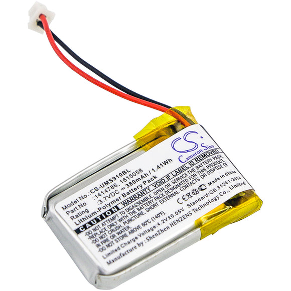 Battery For UNITECH MS910, MS910-CUBB00-SG, MS910-CUBB00-TG, MS912, - vintrons.com