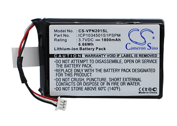 VDO DAYTON ICP1034501S1PSPM Replacement Battery For VDO DAYTON MS2010AUS, - vintrons.com