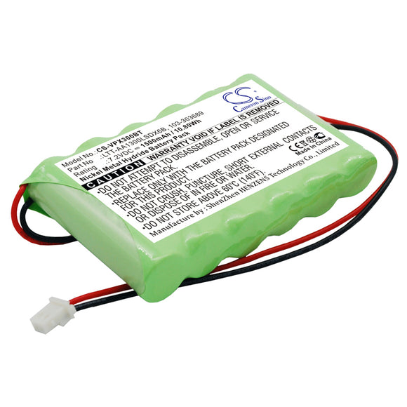 Battery For VISONIC PowerMaster 30 Control Panel, - vintrons.com