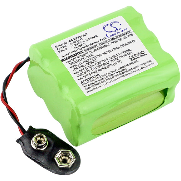 VISONIC 0-9913-Q Replacement Battery For VISONIC Powermax, - vintrons.com