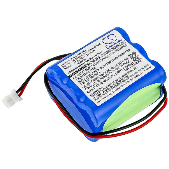 VISONIC 0-9912-M, 0-9913-W, 103-303687, GP130AAM6YMX, LTT-AA1300LSDX6Y Replacement Battery For VISONIC Powermax Plus, Powermax+, - vintrons.com