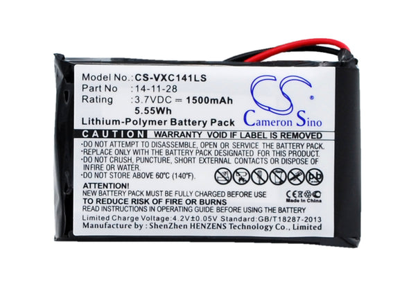 VANCOUVER 14-11-28 Replacement Battery For VANCOUVER Vancouver/XC-141K, - vintrons.com