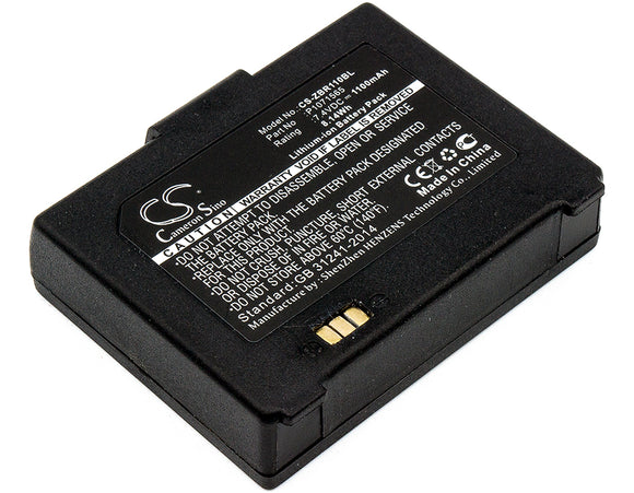 ZEBRA P1070125-008, P1071565, P1071566 Replacement Battery For ZEBRA ZQ110, ZQ220, - vintrons.com