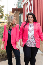 Load image into Gallery viewer, Cheerful Coral Blazer