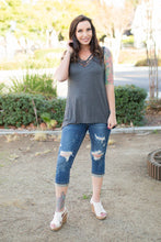Load image into Gallery viewer, Effortlessly Gorgeous Sleeveless Top in Charcoal
